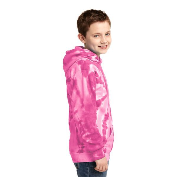 Port & Company® Essential Tie-Dye Youth Kanga Hoodie