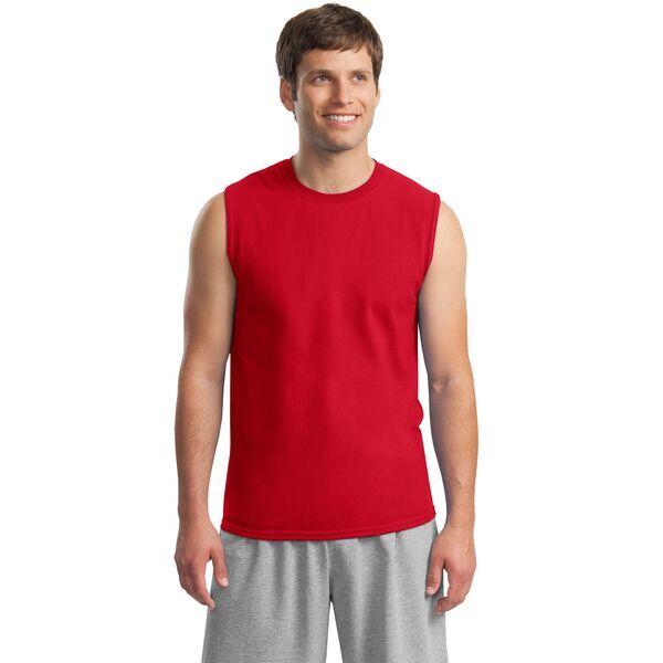 Gildan® Ultra Cotton™ 100% Cotton Men's Sleeveless Tee