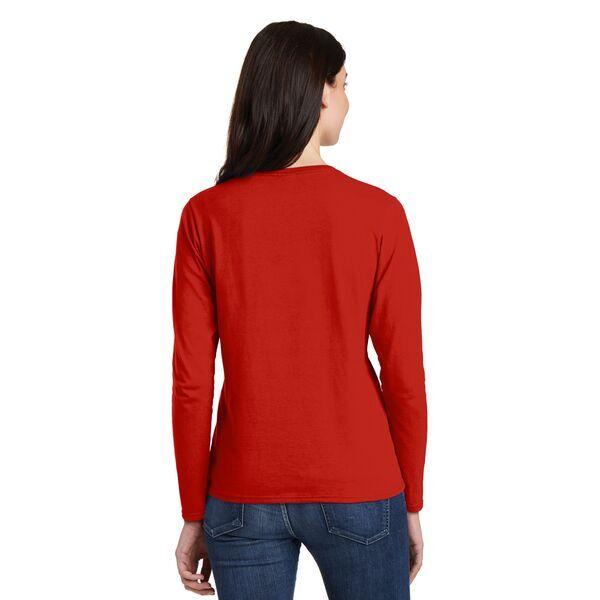 Gildan® Heavy Cotton™ 100% Cotton Ladies' Long Sleeve Tee