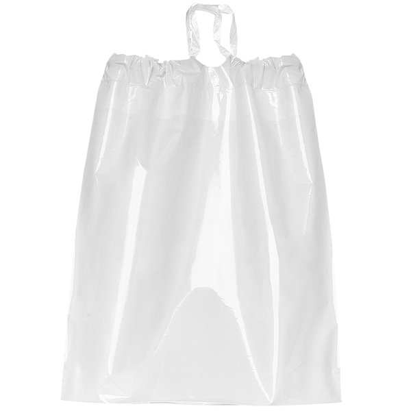 """Poly Drawstring Plastic Bag, 9-1/2"""" x 12"""""""