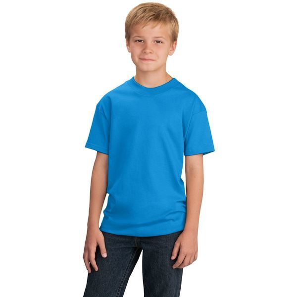 Port & Company® 100% Cotton Youth Tee