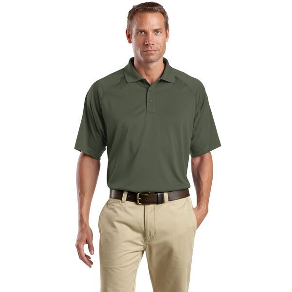 CornerStone® Select Snag-Proof Tactical Men's Performance Polo