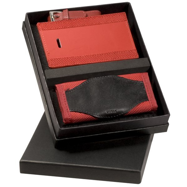 Luggage Tag & Luggage Handle Wrap Gift Set