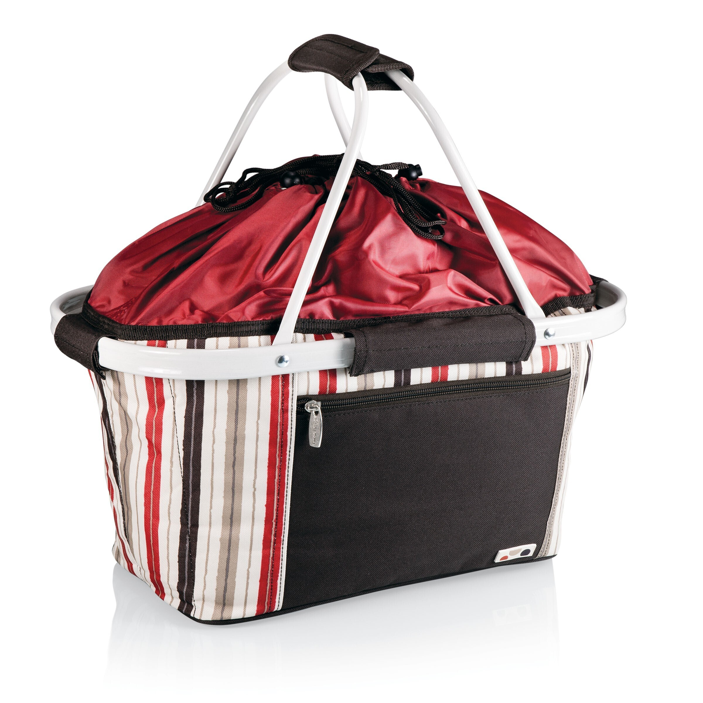 Metro® Insulated Cooler Picnic Basket - Moka Collection