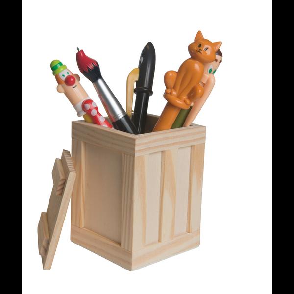 Crate Pen Holder