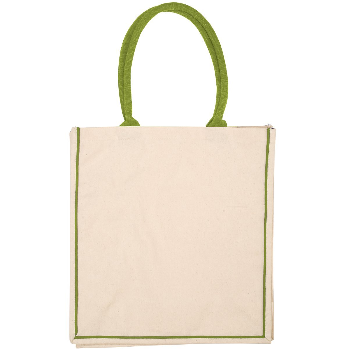 Piped Nantucket Cotton Tote
