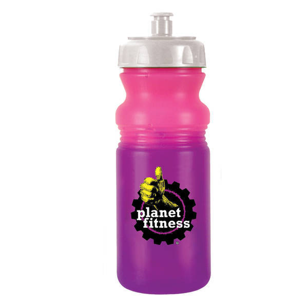 Mood Color Changing Cycle Bottle 20oz. w/ Full Color Imprint