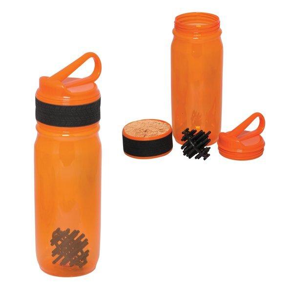 Action Shaker Bottle w/ Compartment, 27oz.
