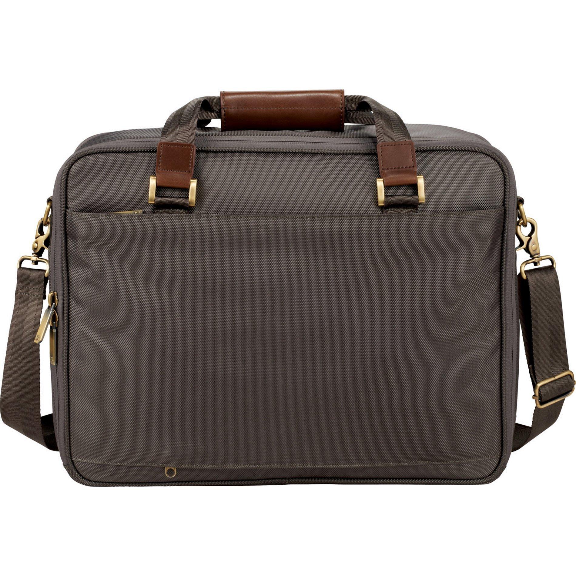 """Cutter & Buck® Bainbridge 15"""" Ballistic Polyester Computer Briefcase"""