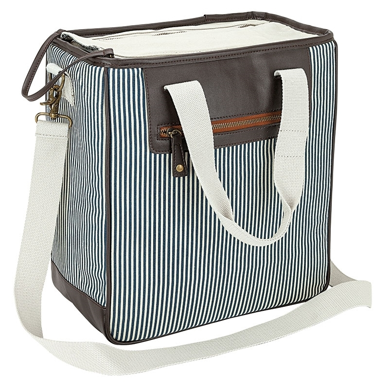 Seaside Stripes 33-Can Fashion Cooler