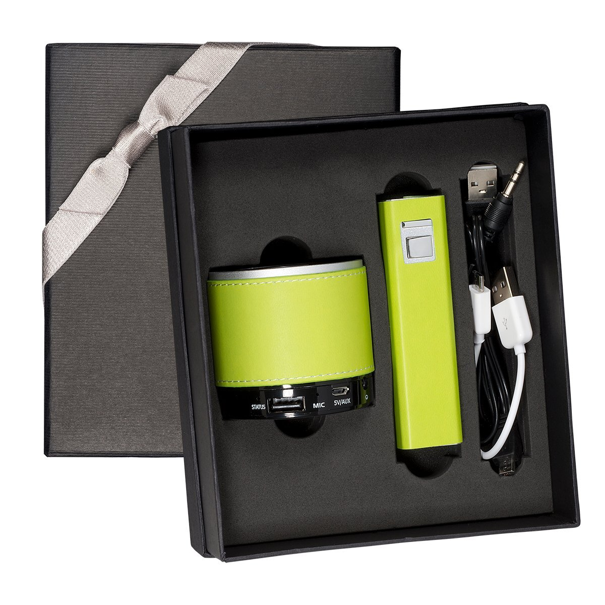 Tuscany™ Bluetooth Speaker & Executive Power Bank Gift Set, 2200mAh