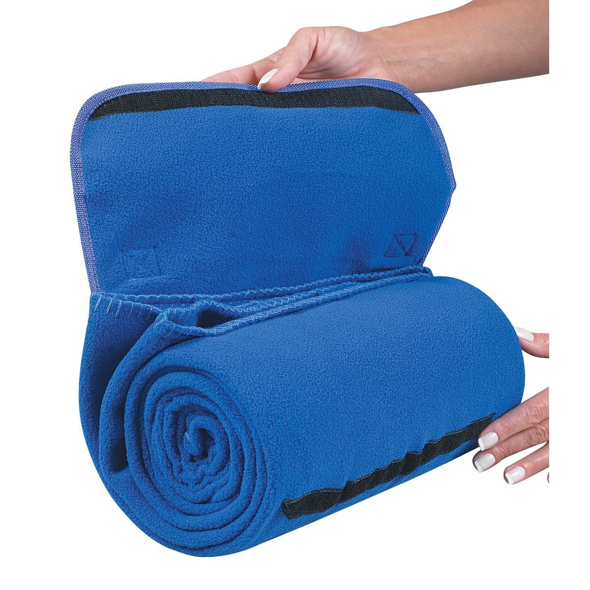 """Roll N' Go Roll Up Fleece Blanket, 48"""" x 53"""""""