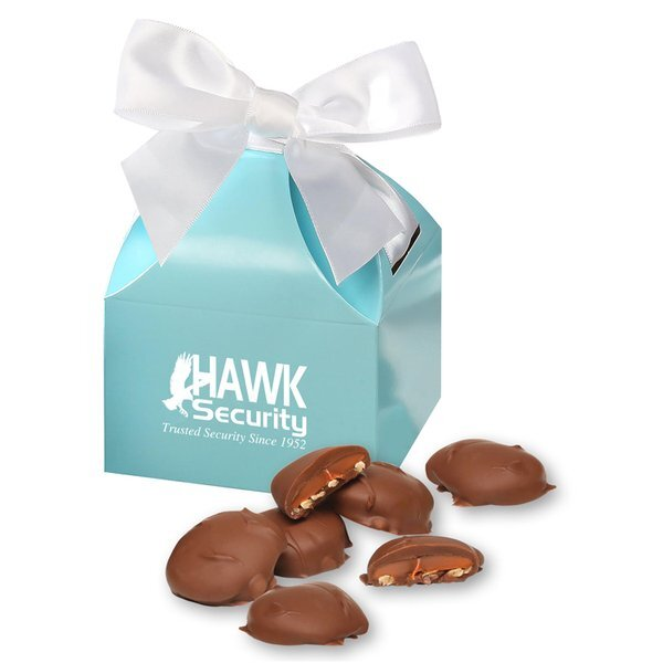Pecan Turtles in Domed Gift Box