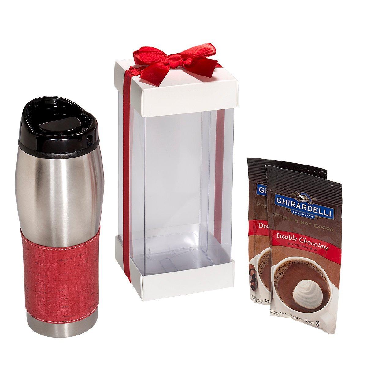 Casablanca™ Tumbler & Ghirardelli® Cocoa Gift Set
