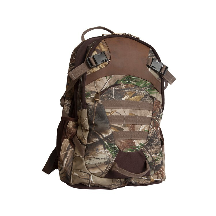 Realtree® Camo & Leather Backpack