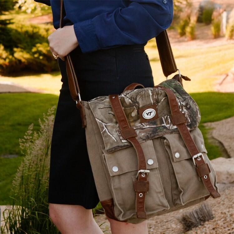 Archer Realtree® XtraCanvas Large Messenger Bag
