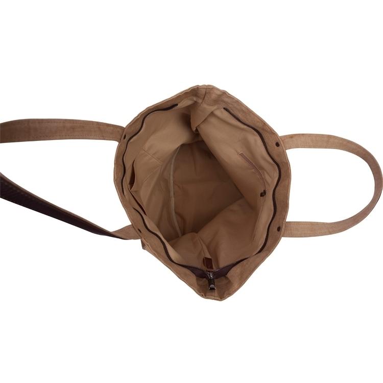 Ashton Linen & Leather Tote