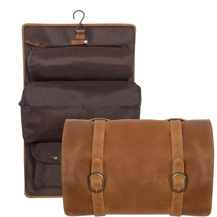 Buffalo Mountain Leather Travel Kit