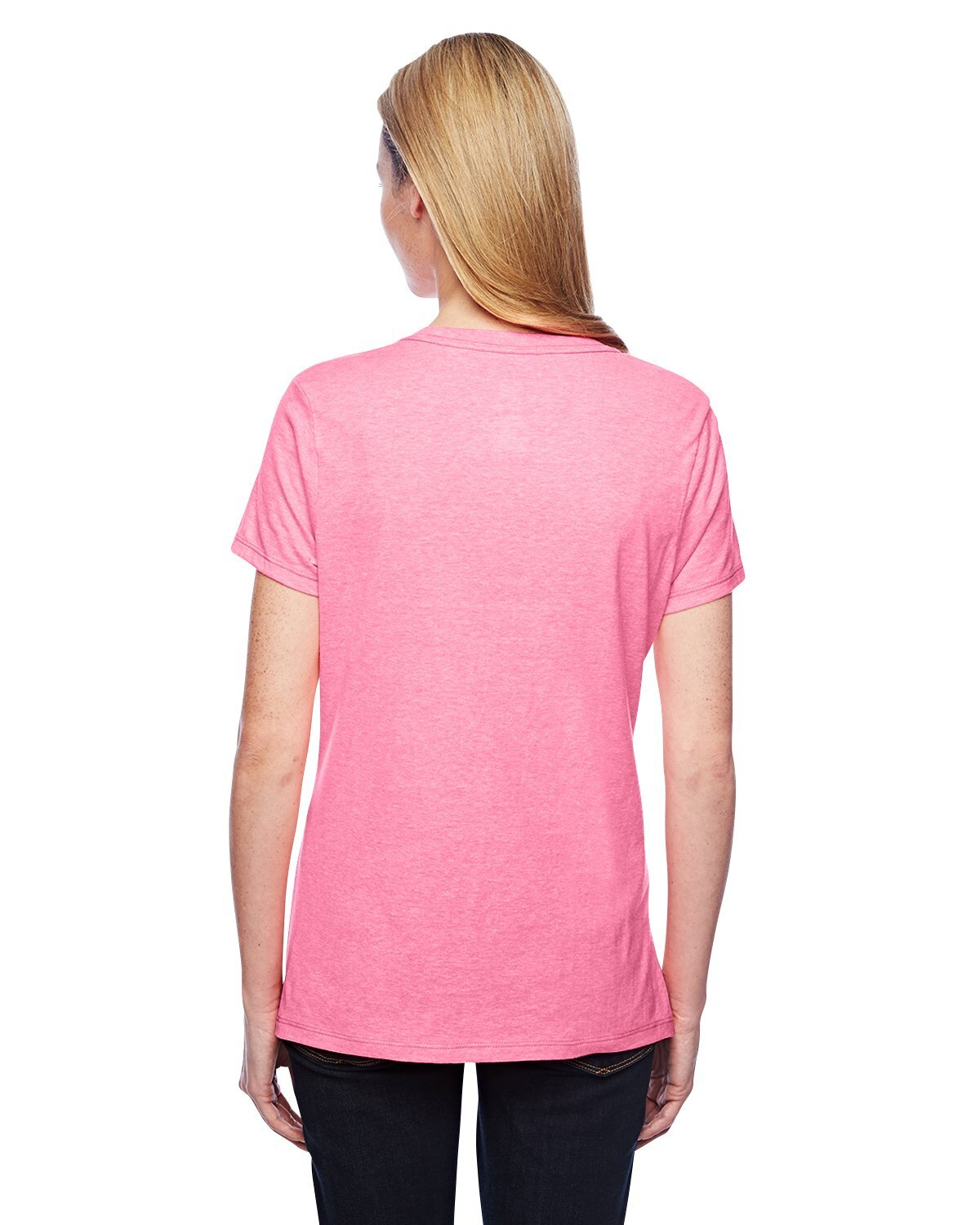 Hanes® X-Temp Ringspun Blend Ladies' V Neck Performance Tee