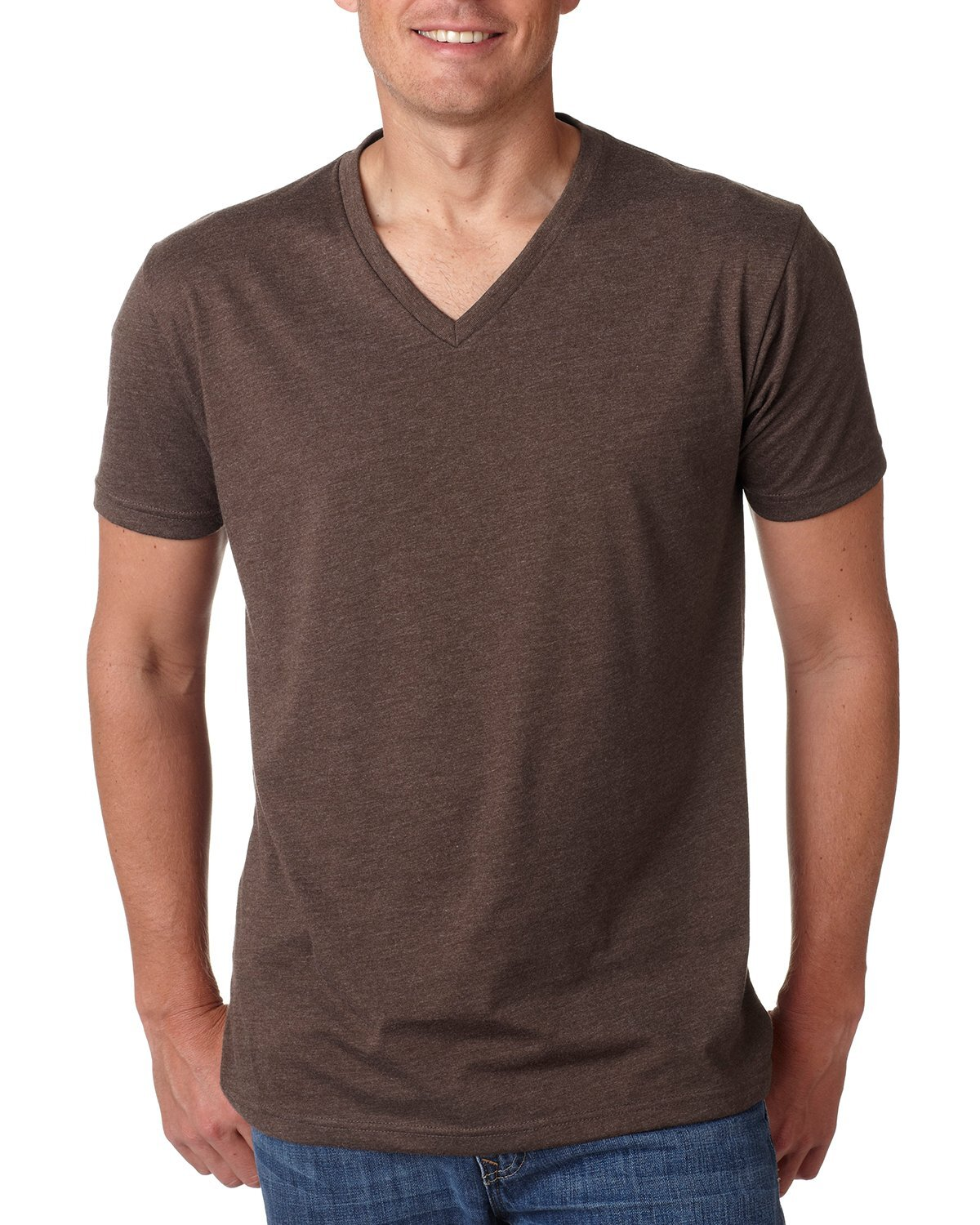 Next Level® Premium CVC Men's V Neck Tee