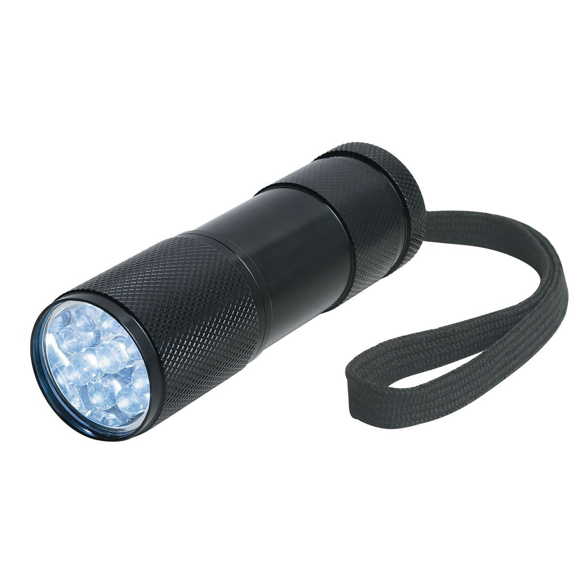 Nine-LED Aluminum Flashlight