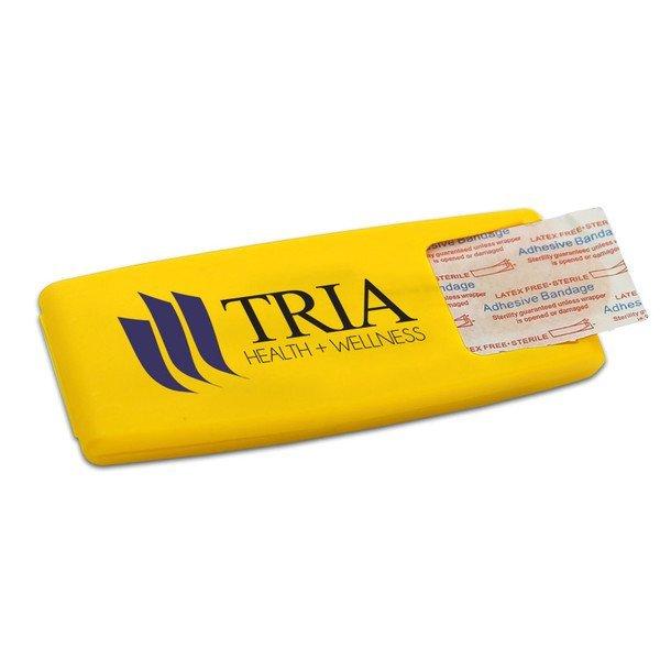 Easy Open Bandage Dispenser with Standard Bandages