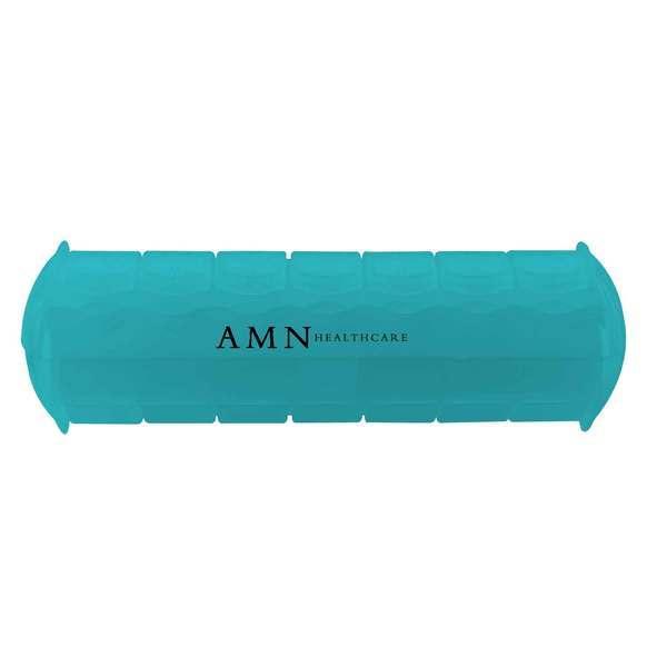 """Seven Day Morning & Night Med Minder Strip Pillbox, 7"""""""