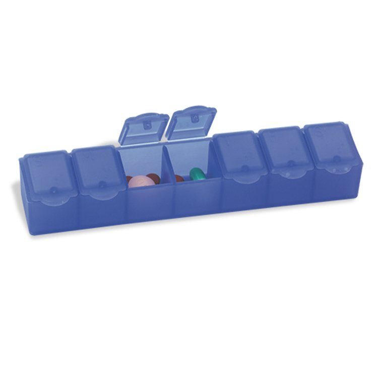Big Seven All-Week Strip Pill Box, 7""
