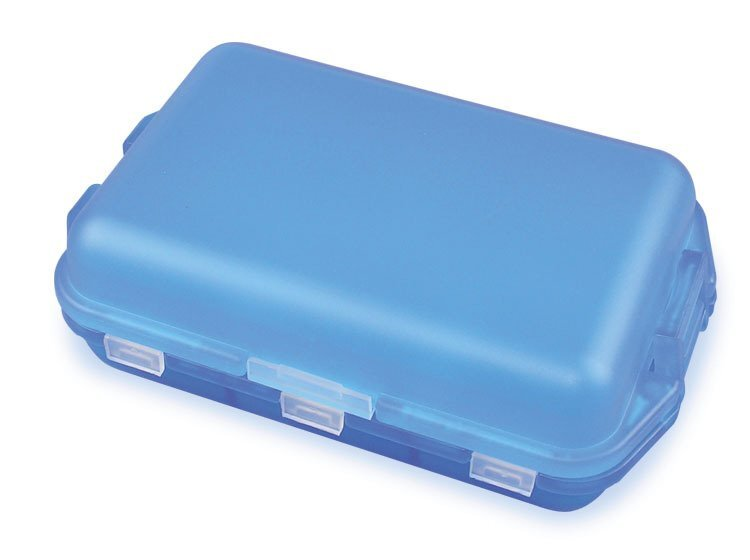 Fill, Fold and Fly Pocket Pill Box, Six Compartment