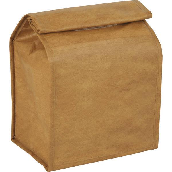 Brown Paper Bag Cooler Bag