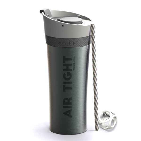Fresh N Go Vacuum Insulated Smoothie Tumbler, 17oz.