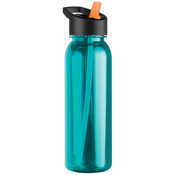 Corvus Tritan™ Bottle, 24oz. - Flip Straw Lid - Free Set Up Charges!