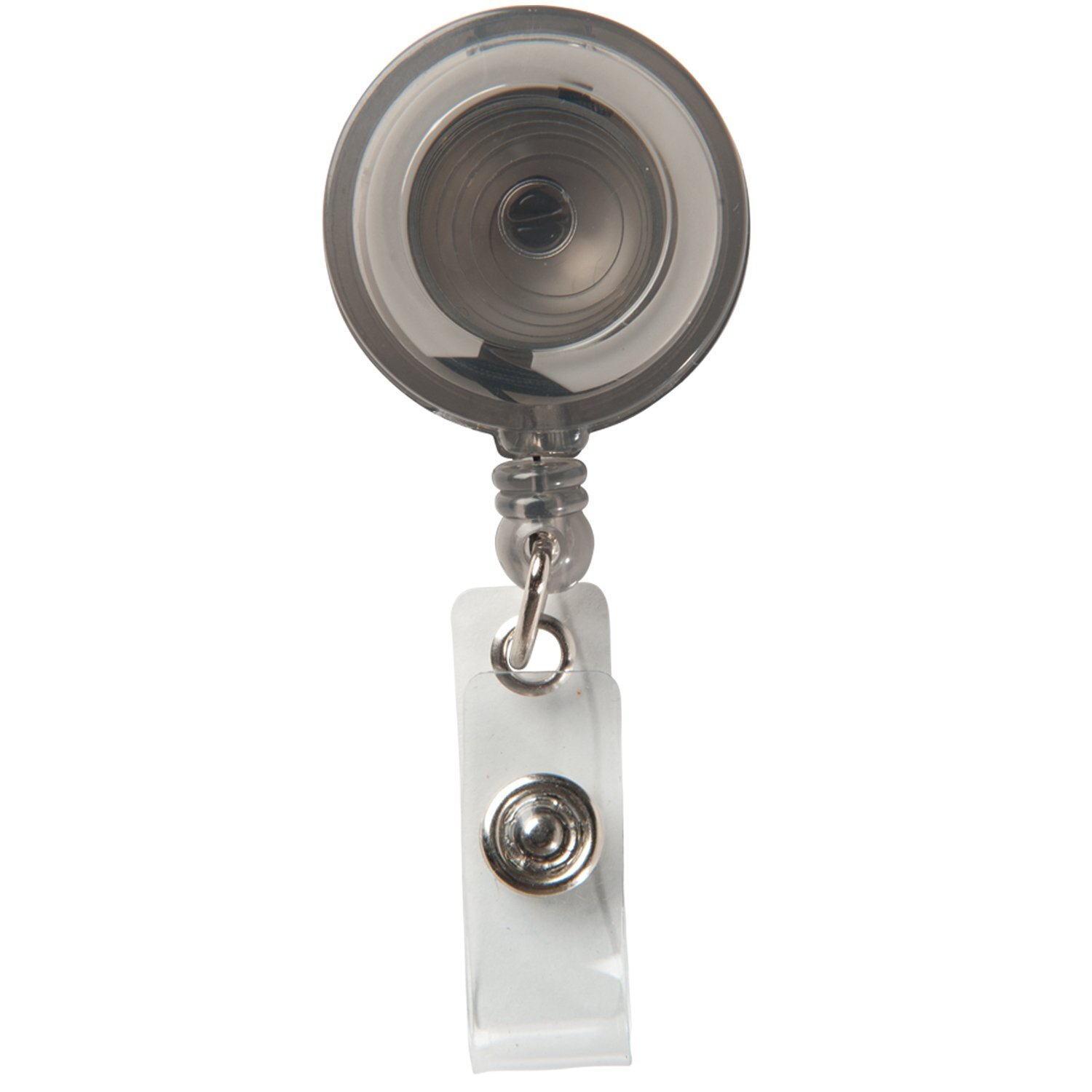 Economy Retractable Badgeholder, Slide Clip