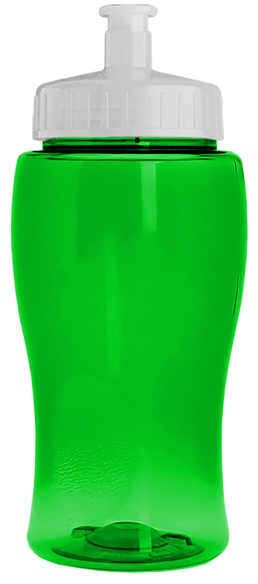 Mini Transparent Sports Bottle, 18oz. - Push Pull Lid