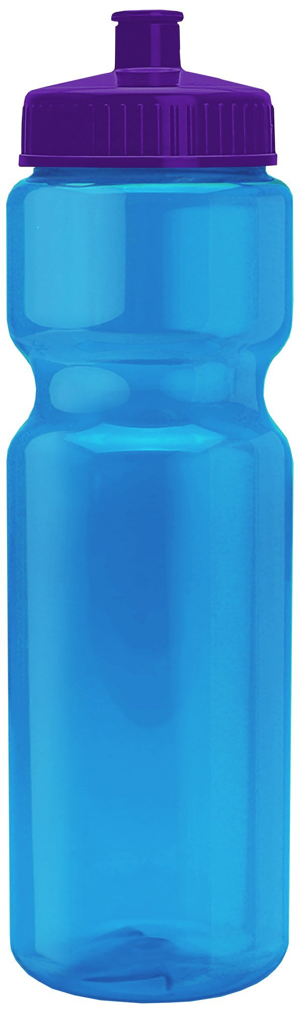Transparent Sports Bottle, 28oz. - Push/Pull Lid