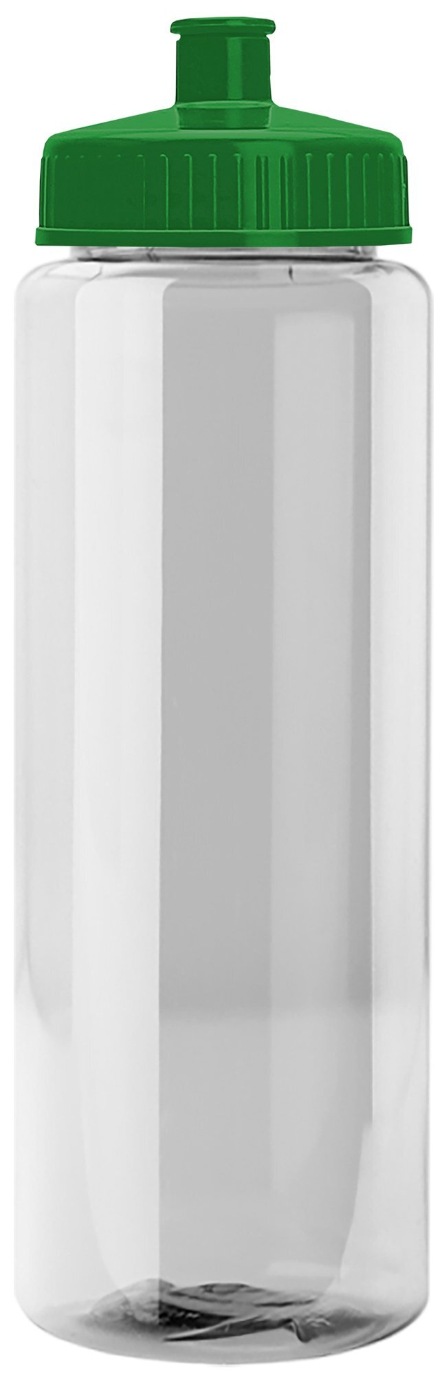 Guzzler Transparent Sport Bottle, 32oz. - Push/Pull Lid