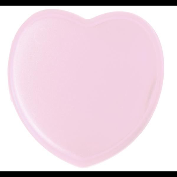 Heart Pocket Pill Box, Single Compartment