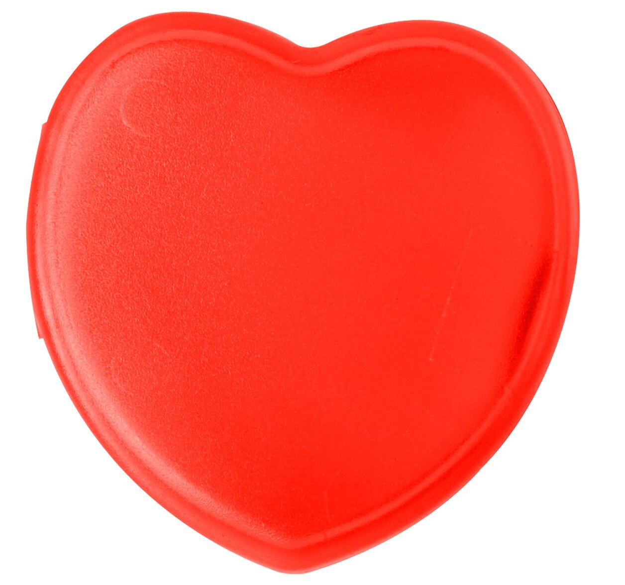 Heart Pocket Pill Box, Single Compartment