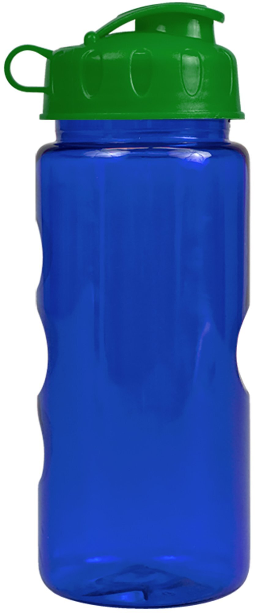 Finger Grip Tritan™ Translucent Bottle, 22oz. - Flip Top Lid