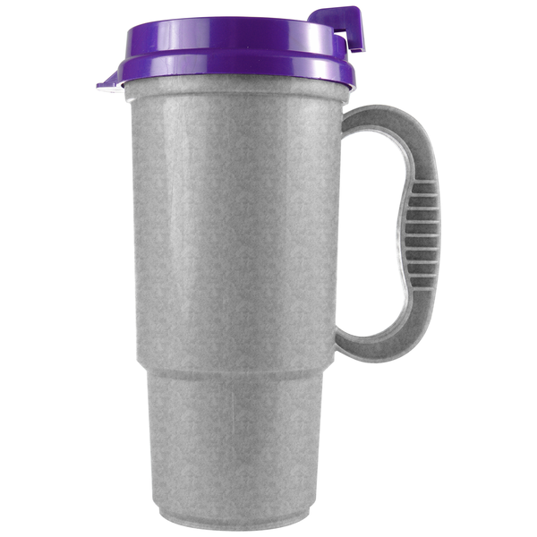 Insulated Metallic Colors Auto Mug, 16oz.