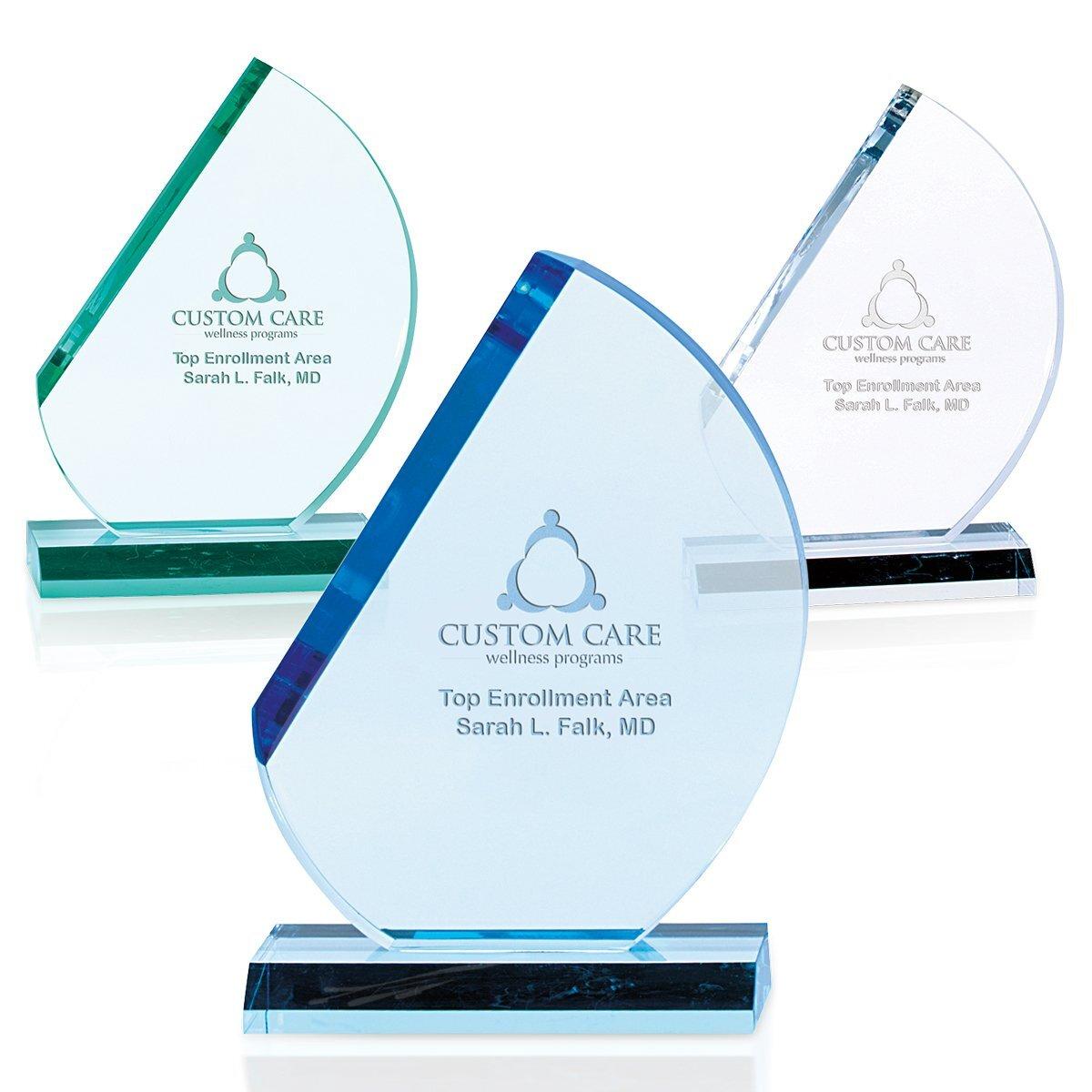 "Crescent Acrylic Award, 8-1/2"""
