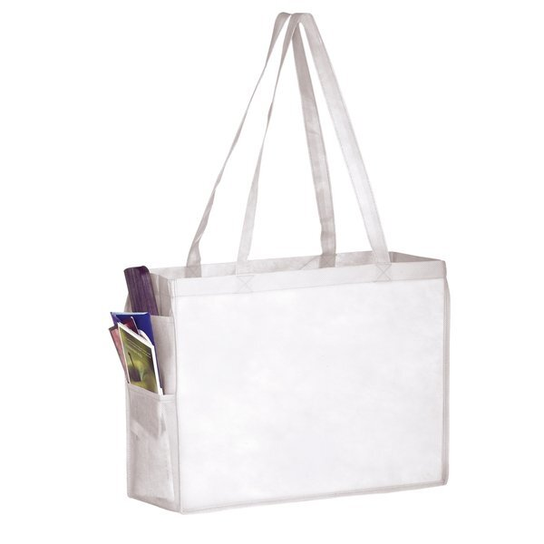 Everyday Non-Woven Tote with Side Pockets