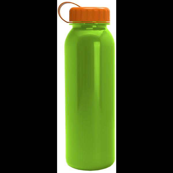 Aquarius Tritan™ Metallic Sport Bottle, 24oz. - Tethered Lid