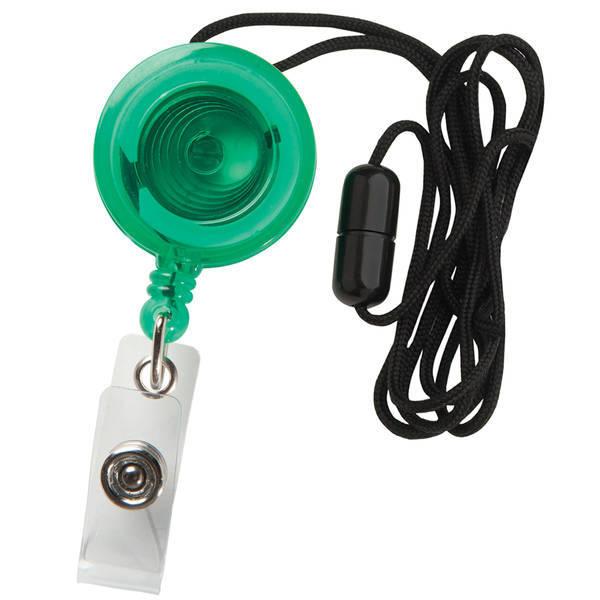 Neck Secure A Badge™ Badgeholder, Slide Clip & Lanyard
