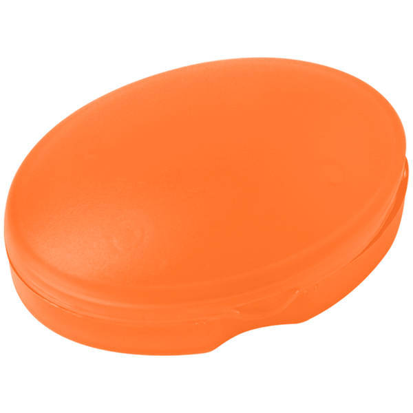Oval Pocket Pill Box, Single Compartment