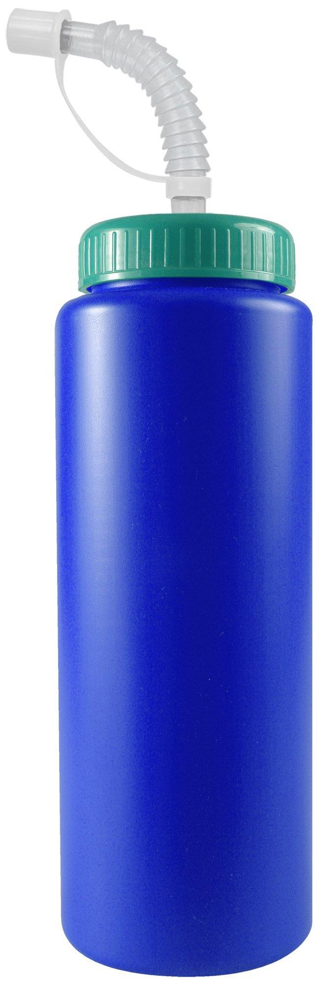 Squeeze Bottle, 32oz. - Flexible Straw Lid