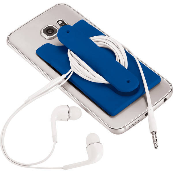 Elden Silicone Phone Wallet, Stand, & Earbud Wrap