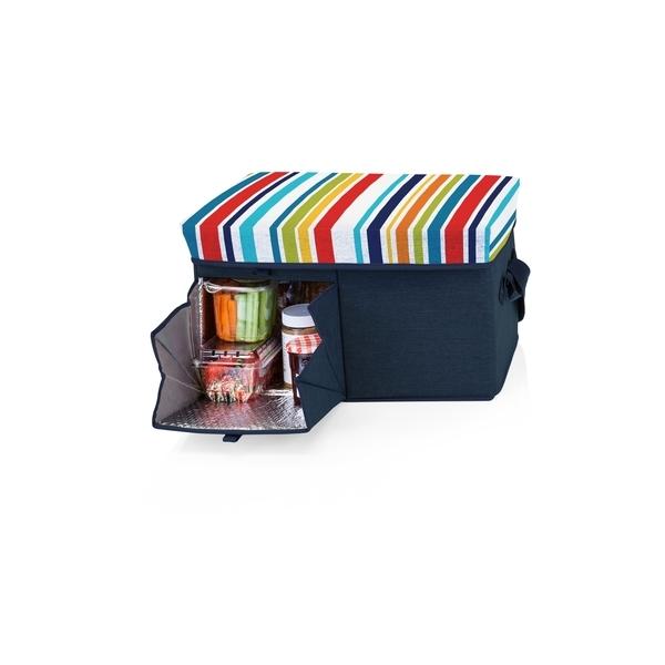 Ottoman Cooler - Fun Stripe