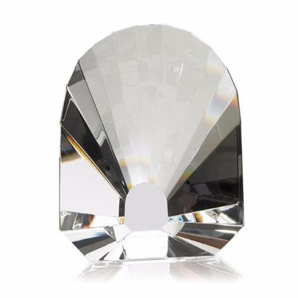 Oyster Crystal Paperweight