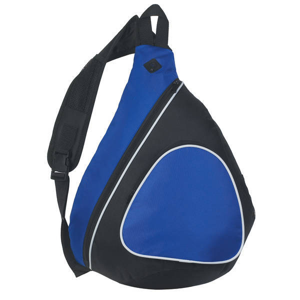 Techie Polyester & Nylon Sling Backpack